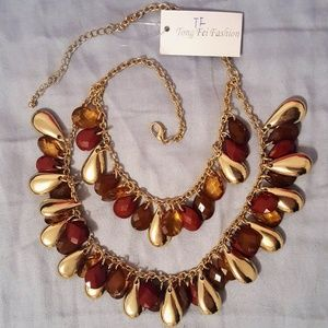 Perfect Autumn Day Fall Necklace NWT